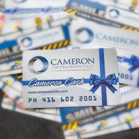 Cameron Ortho Rewards Card